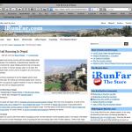 running in nepal