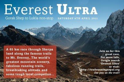 Everest ultra marathon web flyer