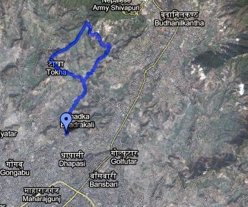 Dhapasi Tokha 5 mile run, North Kathmandu | Trail Running Nepal