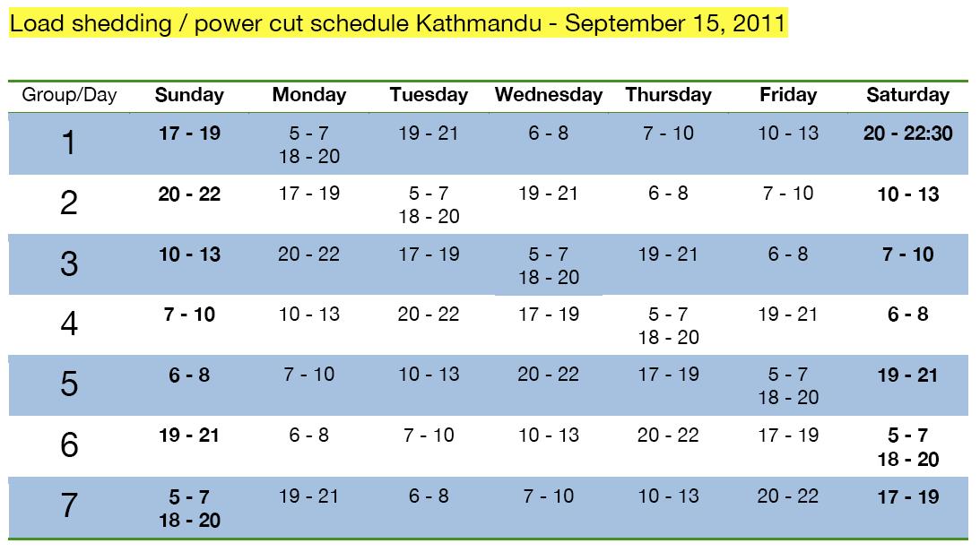 Load-Shedding-Schedule-(power-cuts)-kathmandu-September-15-2011