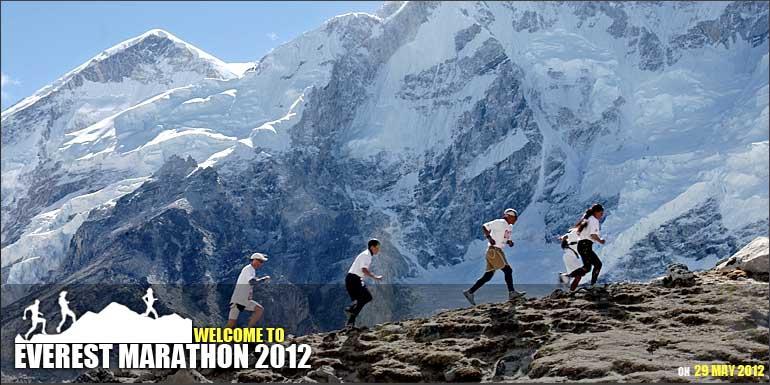 everest marathon in nepal