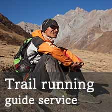 Trail running nepal guide service