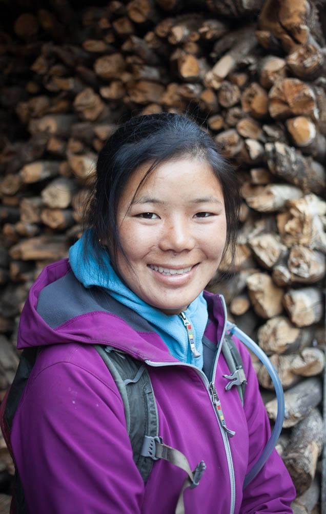 tashi sherpa nepali trail runner