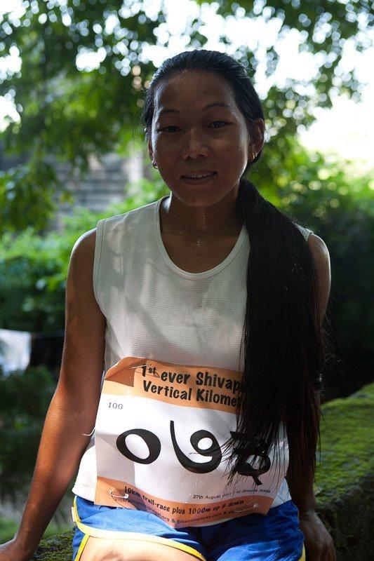 yangdi lama sherpa nepali trail runner