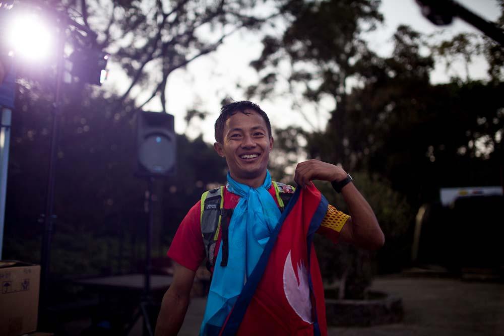 Tirtha Tamang Nepal runner winner vibram hong kong 100