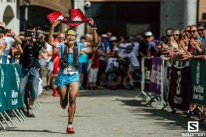 Mira rai winning chamonix mont blanc marathon