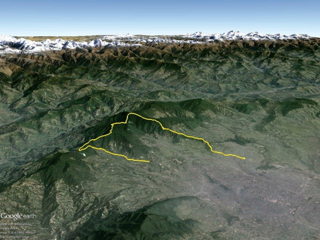 shivapuri 31km route