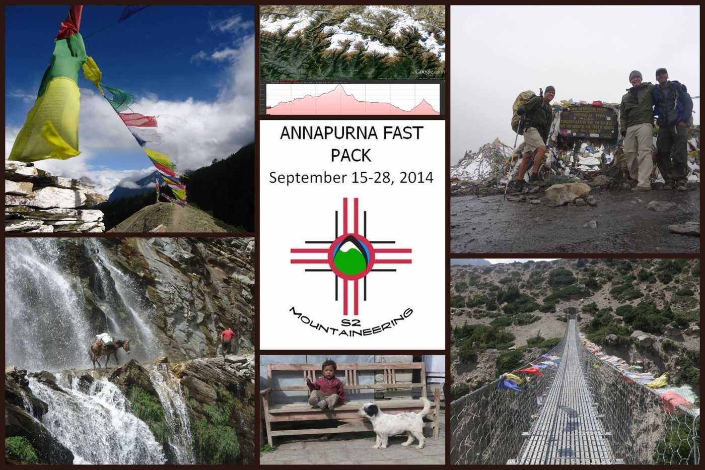 annapurna fast packing nepal