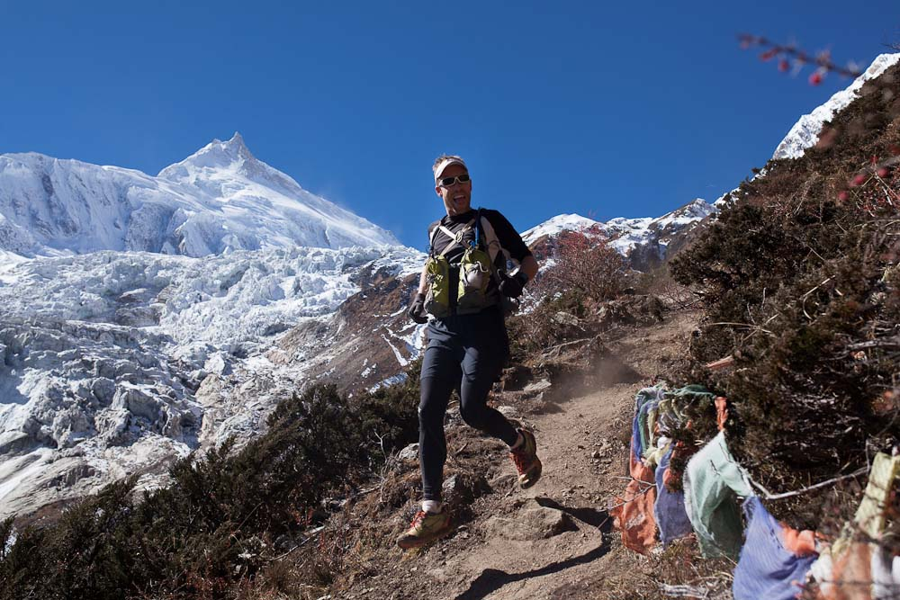 manaslu base camp trail mike collins