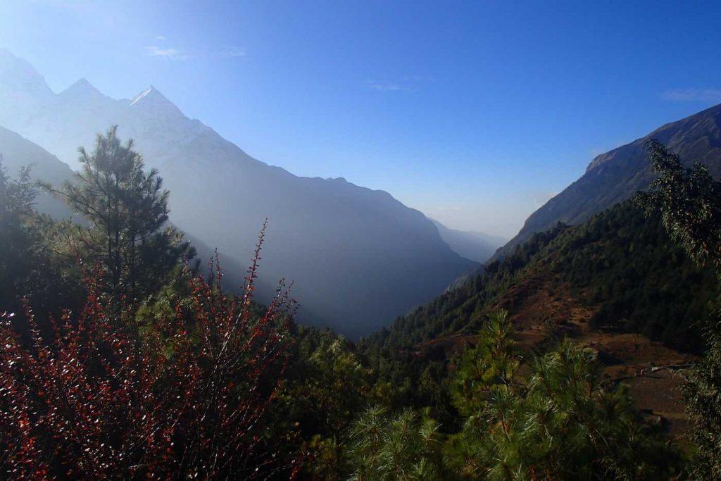 view in everest region