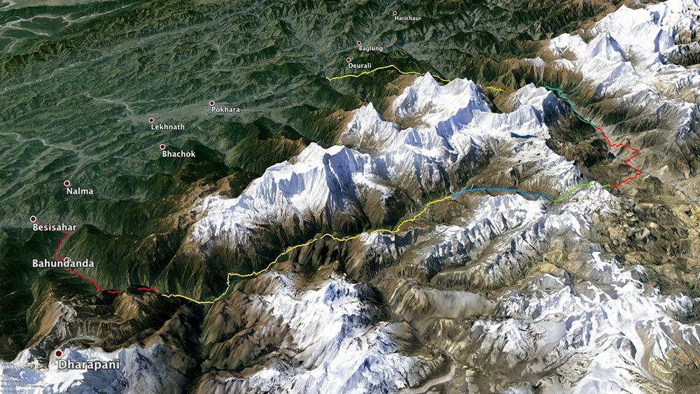 Annapurna Circuit GPX GPS