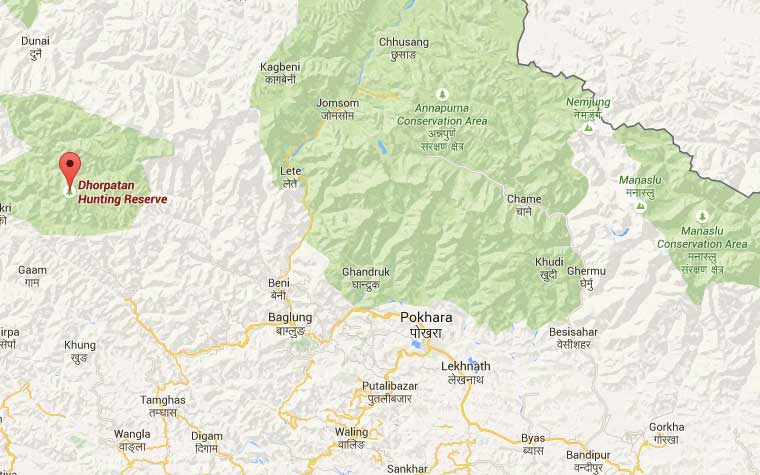 dhorpatan-map-from-pokhara
