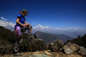 dhorpatan trek mountain view jaljala