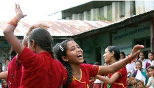 Smiling-girls-red