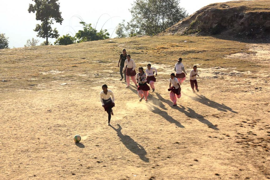 women football in nepal