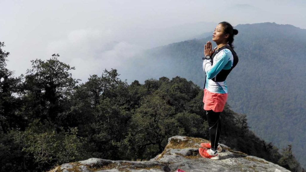 top of Shivapuri peak kathmandu
