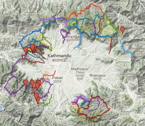running routes in kathmandu