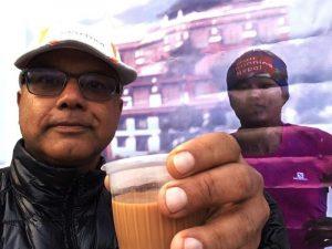 Mira Rai selfie
