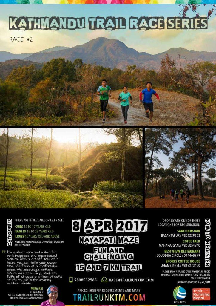 Trail Running Race Game Kathmandu