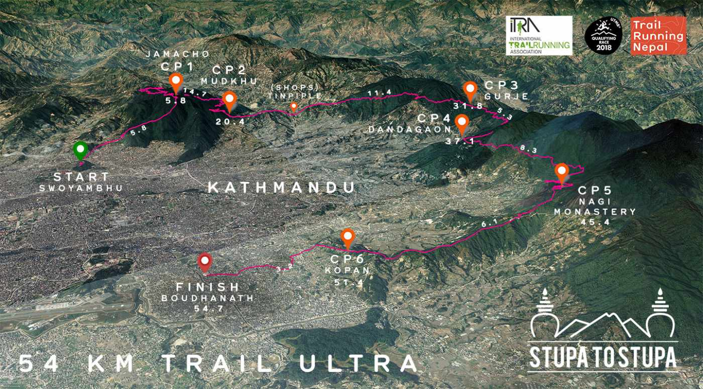 asian ultra trail race route