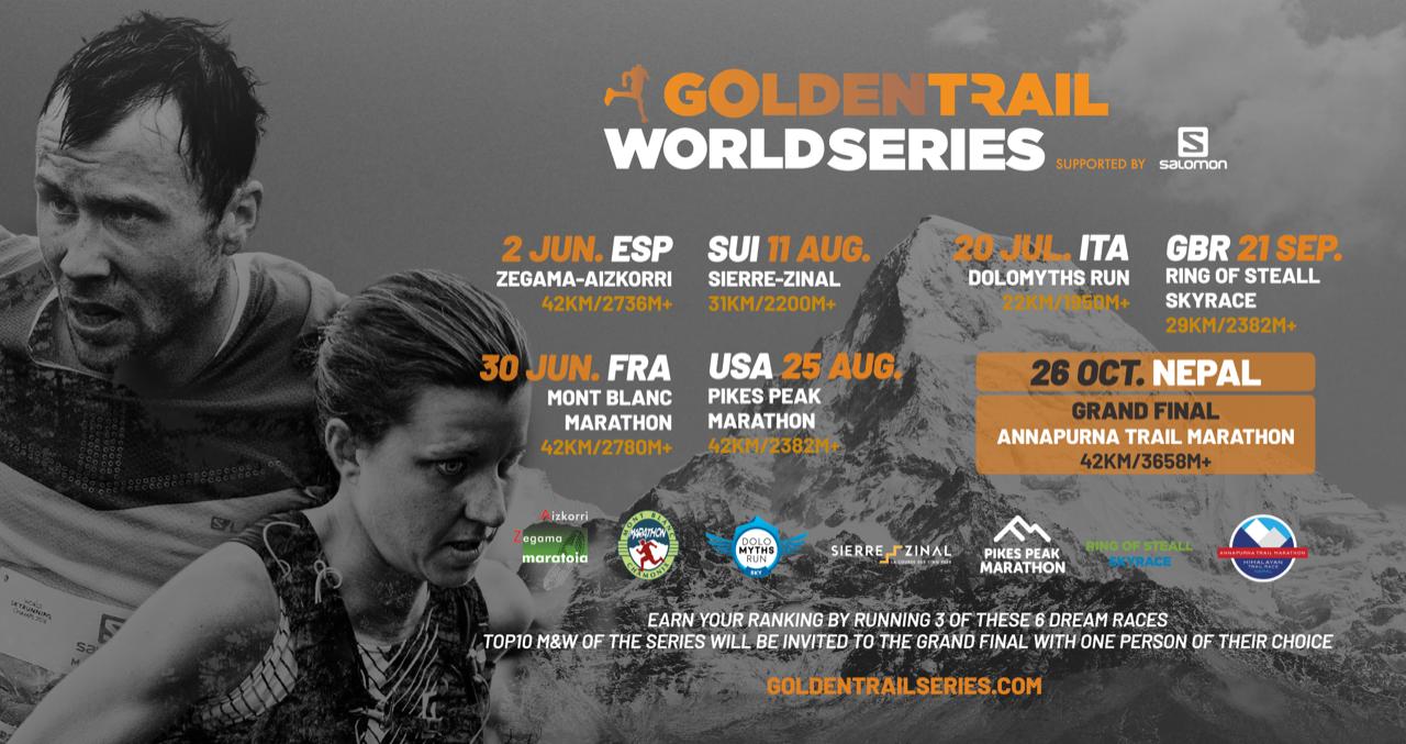 Golden trail Series flyer