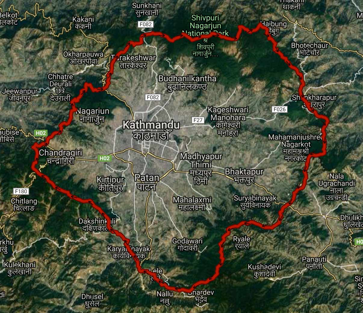 ktm valley rim 100 mile run ultra route map