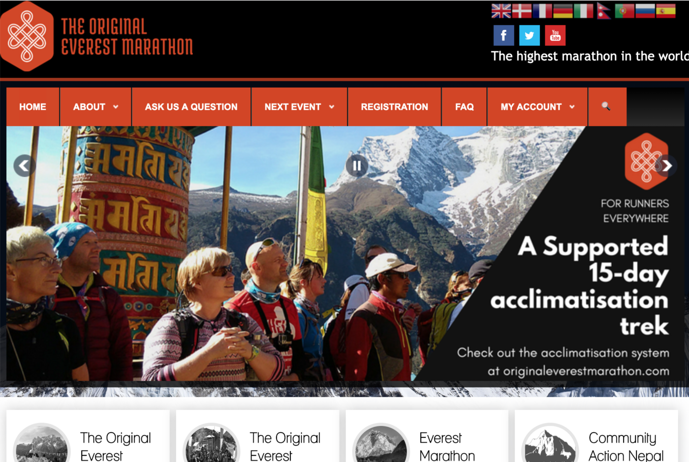 original everest marathon nepal
