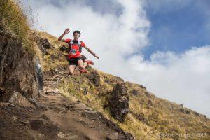 Kilian Jornet running in Nepal